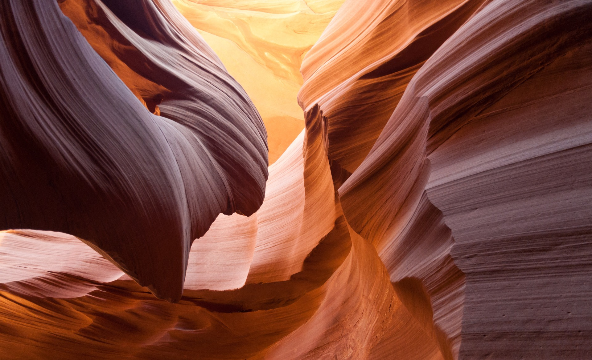 Destinos Custo Benefício: Curvas sinuosas do Antelope Canyon no Arizona, Estados Unidos